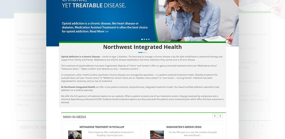 NWIH - North West Integrated Health