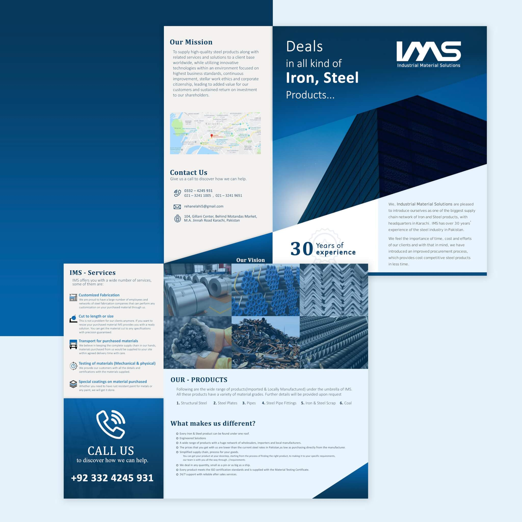 Industrial Material Solutions - Brochure