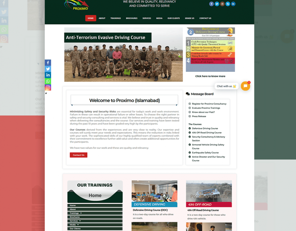Proximo.com.pk - Website Design and Development by Abdul Mateen