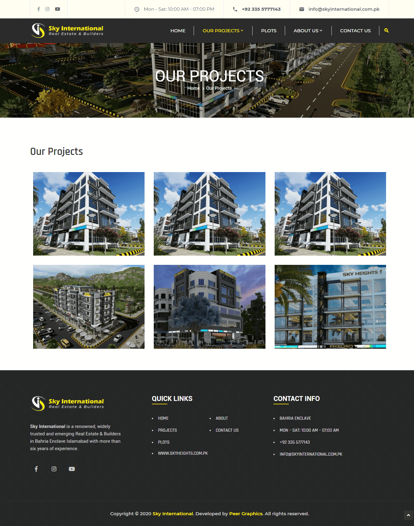 Cirque Constructions - Website Design and Development by Abdul Mateen