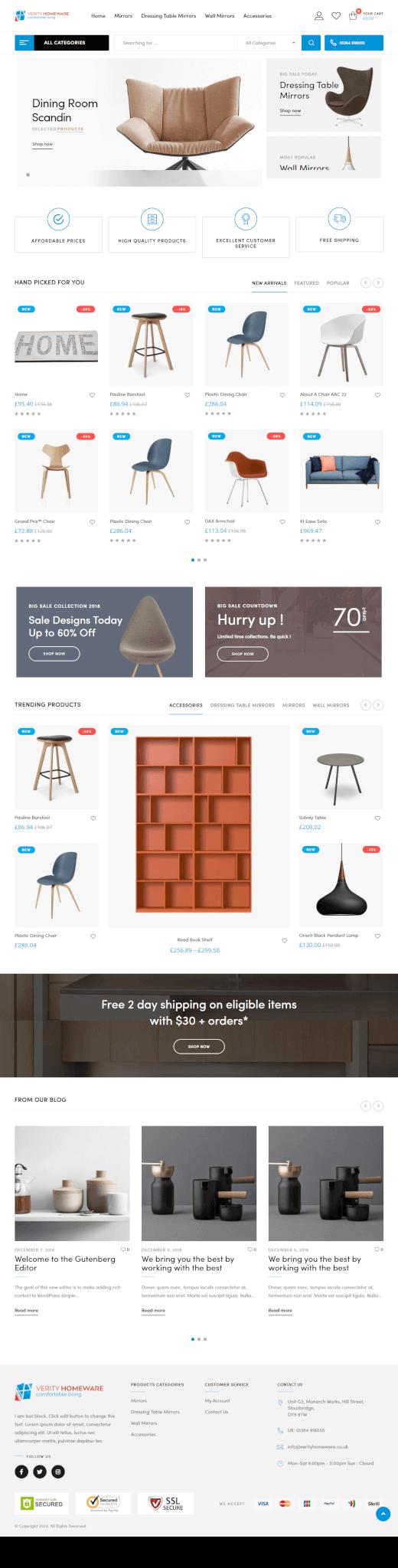 Cirque Constructions - Website Design and Development by Abdul Mateen